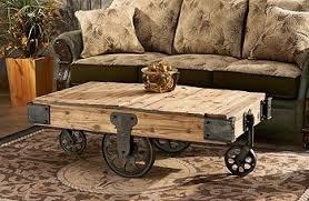 railroad cart coffee table railroad cart coffee table diy pinterest cart coffee table