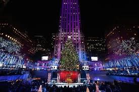 rockefeller center christmas tree lighting 2015 time location