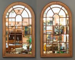 Ideas Design For Arched Window Mirror Arched Window Pane Mirror Pottery Barn Designs Ideas And Decors