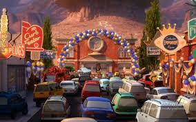 Disney Springs Map Image Pixar Post Radiator Springs 500 And A Half 01 Png