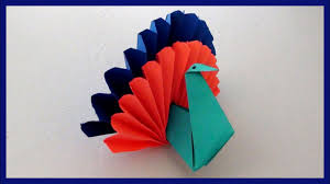 easy paper peacock craft for kids diy simple paper craft