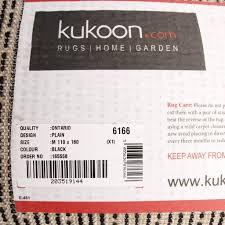 Rugs Made To Size Amazon Com Luxury Super Soft Black Shag Shaggy Living Room