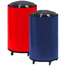 Patio Ice Cooler by Barplus Rolling Patio Cooler U0026 Ice Barrel