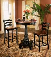 Pedestal Bar Table Indigo Creek Round Pedestal Pub Table Hooker Furniture Home