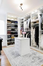 Black Closet Design Crisp Clean Modern White Walk In Closet Dream Closet Design