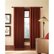 home decorators collection blackout terracotta tweed room