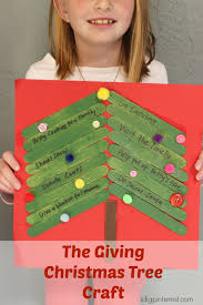the giving christmas tree kids craft i dig pinterest