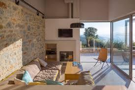 Villa Decoration by Architect Modern Architects Designs A Private Villa On Skiathos