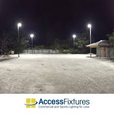 Outdoor Court Lighting by Led Recreational Tennis Court Lights Poles U0026 Mounts