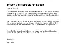 Loan Outstanding Letter letter of commitment to pay sle 151 3 png