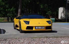 Lamborghini Murcielago Yellow - lamborghini murciélago roadster 5 june 2016 autogespot