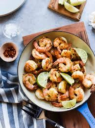 Skillet Kitchen Skillet Shrimp With Lime And Green Curry Compound Butter Kitchen
