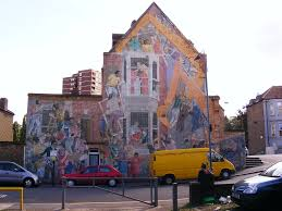 floyd road mural mural charlton london mural preservation society floyd road