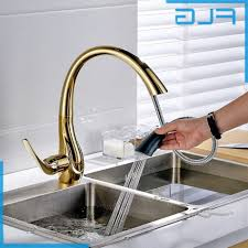 beautiful gold kitchen faucet best kitchen faucet