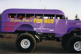 bus monster truck videos super pete s fun bus monster trucks wiki fandom powered by wikia