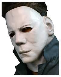 michael myers mask halloween costume michael myers halloween mask half 2 horror mask horror shop com