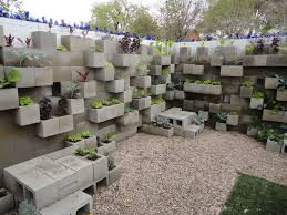 cinder block wall design with others cinder block lettuce wall
