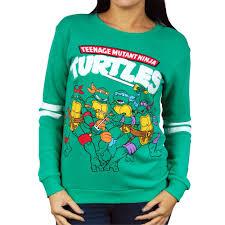 mutant turtles green sweatshirt buy tmnt