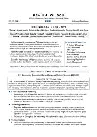 Construction Executive Resume Samples by 2014 Cio Resume Sample Page 1 81 Charming Professional Resume