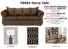 livingroom packages darcy cafe living room package