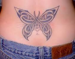 celtic knot butterfly
