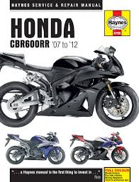 honda cbr600rr 2007 12 haynes manual 4795
