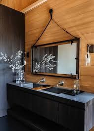 Industrial Style Bathroom Vanities by Bathroom Industrial Style Bathroom With Yellow Bathroom Vanity