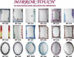 fancy bathroom mirrors fancy mirror for bathroom at rs 350 piece s palghar vasai