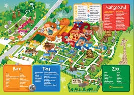 Where Is Wales On The Map Map Of Folly Farm Adventure Park And Zoo