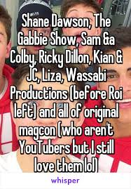 Colby Meme - shane dawson the gabbie show sam a colby ricky dillon kian