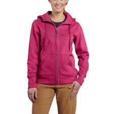carhartt women u0027s clarksburg zip front sweatshirt closeout 100704co
