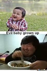 Winning Baby Meme - evil baby grown up by alexterrot meme center