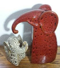 ceramic elephant bookends from pier 1 imports brand new home