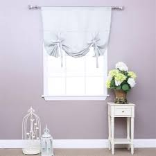 curtains white tie up curtains ideas about on pinterest basement