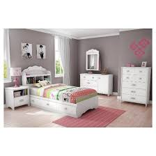 tiara twin mates bed with drawers and bookcase headboard set 39