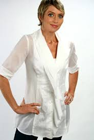 finley blouses karla tunic is white variegated voile finley shirts summer 2012
