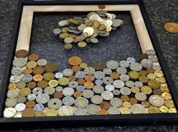 Home Design Story Coins Coin Art For All The Foreign Coins Definately Gonna Make