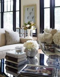 Coffee Table Marvelous End Table Decorating Ideas Black Glass