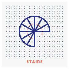 Gift For Architect Gifts For Architects On Behance Stairs Icon Icons Iconaday