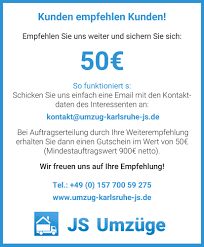 K He Zusammenstellen G Stig Js Umzug Karlsruhe Privatumzug Schnell Und Einfach