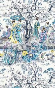 buttercups riverside wallpapers japanese garden wallpaper by osborne u0026 little h o m e