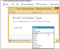 Crm Email Templates microsoft dynamics 365 email templates the crm book