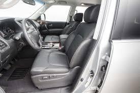 2017 nissan armada platinum interior 2017 nissan armada platinum first test review motor trend canada