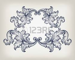 75 632 baroque frame cliparts stock vector and royalty free