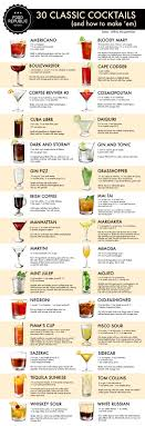 classic summer cocktails how to make 30 classic cocktails an illustrated guide