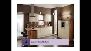 magnet kitchens gloss white cream youtube