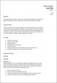 Cio Resume Examples by Free Resume Templates 93 Remarkable Downloadable Word Office
