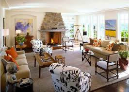 Fantastic Stone Fireplace For Cozy Family Room Decoration With - Cozy family rooms