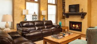 Living Rooms With Brown Leather Furniture Lovely Condo Vacation Rental In Murphys California