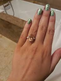 gold and morganite ring my gold morganite engagement ring show me your morganites